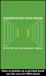 Ebook in inglese Developing Inclusive Teacher Education