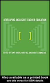 Developing Inclusive Teacher Education