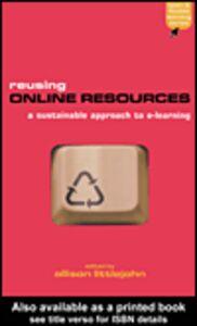 Ebook in inglese Reusing Online Resources