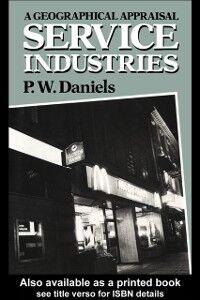 Ebook in inglese Service Industries Daniels, Peter W.
