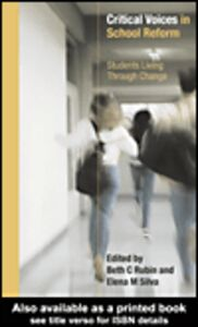 Ebook in inglese Critical Voices in School Reform