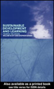 Ebook in inglese Sustainable Development and Learning Gough, Stephen , Scott, William