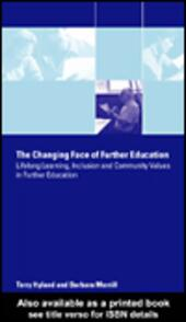 The Changing Face of Further Education