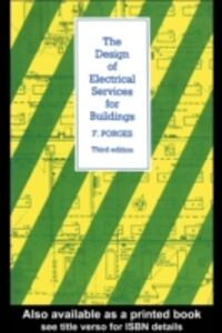 Ebook in inglese Design of Electrical Services for Buildings