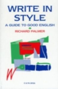 Ebook in inglese Write in Style