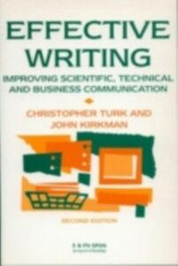 Ebook in inglese Effective Writing Kirkman, John , Turk, Christopher