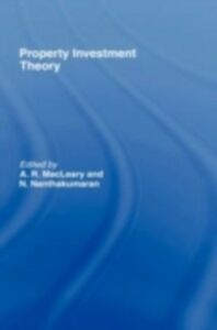 Ebook in inglese Property Investment Theory -, -