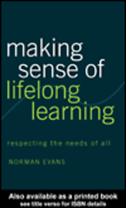 Ebook in inglese Making Sense of Lifelong Learning Evans, Norman