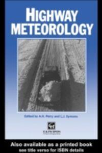 Ebook in inglese Highway Meteorology -, -