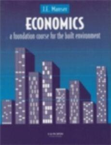 Foto Cover di Economics, Ebook inglese di J.E. Manser, edito da Taylor and Francis