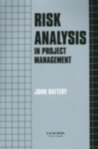 Ebook in inglese Risk Analysis in Project Management Raftery, J.
