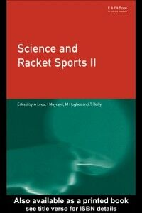 Ebook in inglese Science and Racket Sports II