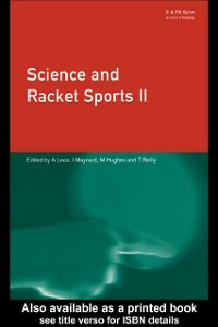 Ebook in inglese Science and Racket Sports II -, -