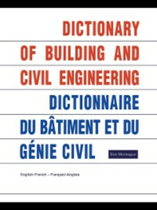 Ebook in inglese Dictionary of Building and Civil Engineering Montague, Don