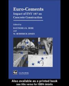 Foto Cover di Euro-Cements, Ebook inglese di  edito da Taylor and Francis