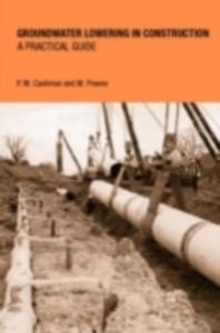 Ebook in inglese Groundwater Lowering in Construction Cashman, P.M. , Preene, Martin