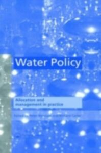 Foto Cover di Water Policy, Ebook inglese di  edito da CRC Press