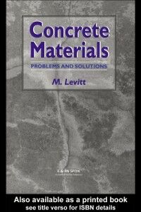 Ebook in inglese Concrete Materials Levitt, Dr Maurice