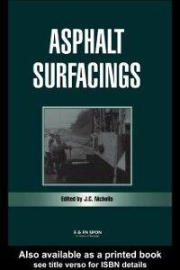 Ebook in inglese Asphalt Surfacings -, -