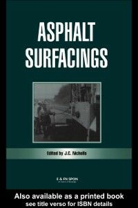 Foto Cover di Asphalt Surfacings, Ebook inglese di  edito da Taylor and Francis
