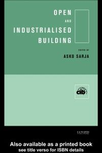 Ebook in inglese Open and Industrialised Building -, -