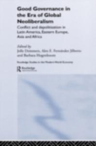 Ebook in inglese Good Governance in the Era of Global Neoliberalism -, -