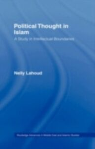 Ebook in inglese Political Thought in Islam Lahoud, Nelly