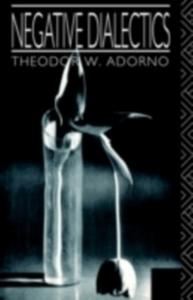Ebook in inglese Negative Dialectics Adorno, Theodor