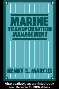Ebook in inglese Marine Transportation Management Marcus, Henry S.