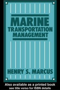 Ebook in inglese Marine Transportation Management Marcus, Henry S.
