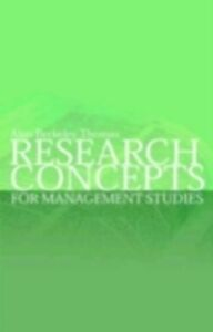 Ebook in inglese Research Concepts for Management Studies Thomas, Alan Berkeley