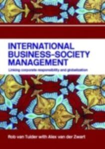 Foto Cover di International Business-Society Management, Ebook inglese di Rob van Tulder,Alex van der Zwart, edito da Taylor and Francis
