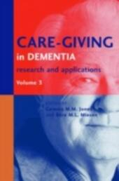 Care-Giving in Dementia V3