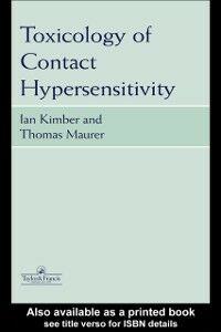 Ebook in inglese Toxicology of Contact Hypersensitivity -, -