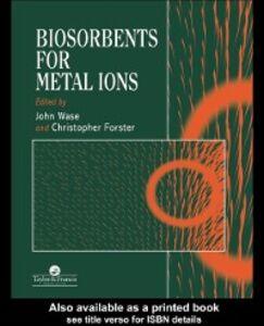 Foto Cover di Biosorbents for Metal Ions, Ebook inglese di  edito da CRC Press
