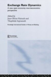 Foto Cover di Exchange Rate Dynamics, Ebook inglese di  edito da Taylor and Francis