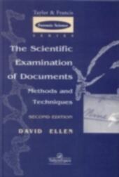 Scientific Examination of Documents: Methods and Techniques