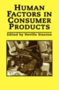 Ebook in inglese Human Factors In Consumer Products -, -