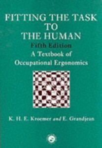 Foto Cover di Fitting The Task To The Human, Ebook inglese di Etienne Grandjean,Karl Kroemer, edito da Taylor and Francis