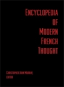 Ebook in inglese Encyclopedia of Modern French Thought -, -