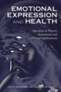 Ebook in inglese Emotional Expression and Health -, -