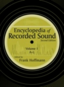 Ebook in inglese Encyclopedia of Recorded Sound -, -
