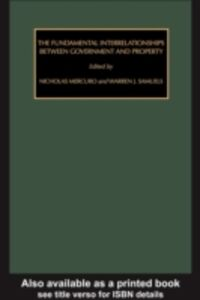 Ebook in inglese Fundamental Interrelationships between Government and Property
