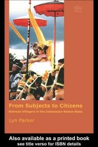 Ebook in inglese From Subjects to Citizens Parker, Lyn