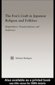 Ebook in inglese Fox's Craft in Japanese Religion and Culture Bathgate, Michael