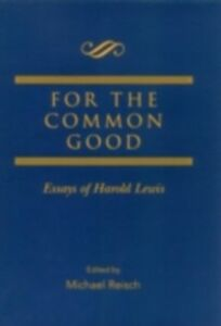 Ebook in inglese For the Common Good