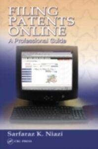 Ebook in inglese Filing Patents Online Niazi, Sarfaraz K.
