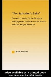 Foto Cover di For Salvation's Sake, Ebook inglese di Jason Moralee, edito da Taylor and Francis