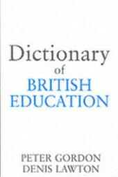 Dictionary of British Education