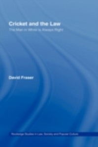 Ebook in inglese Cricket and the Law Fraser, David